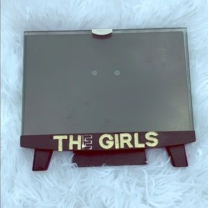 The girls Rhinestone picture frame